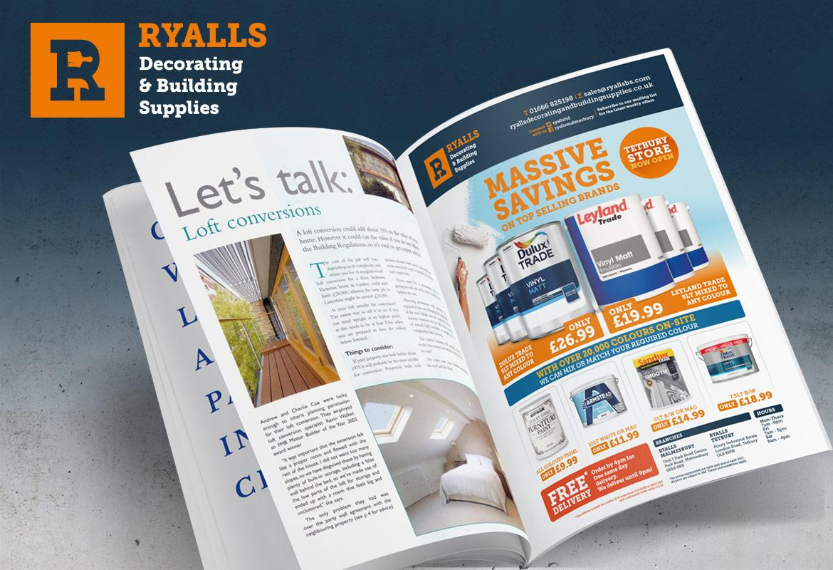 Ryalls Advert