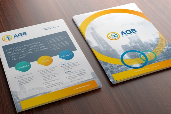 AGB Risk Flyer Design