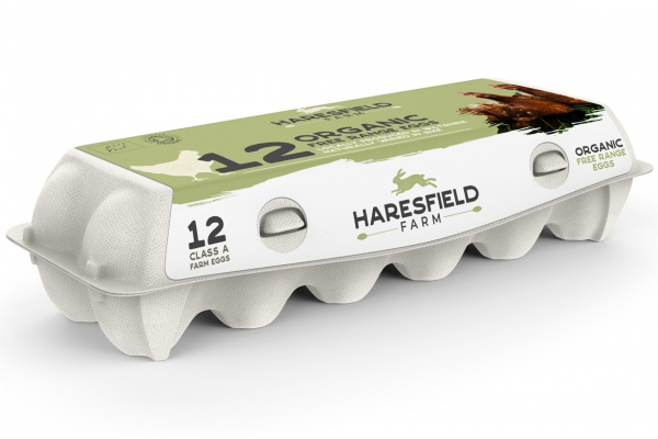 Haresfield Farm Egg Packaging