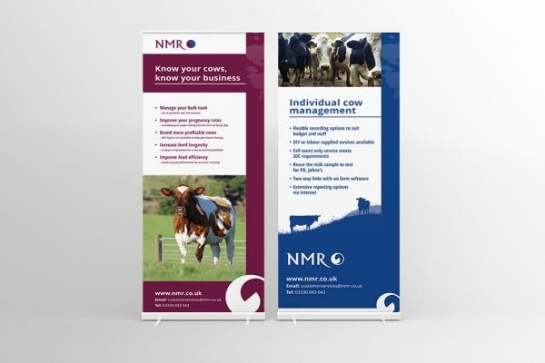 National Milk Records - Banner Designs